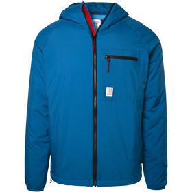 Topo Designs Puffer Veste à capuche Homme, blue